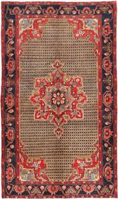 Koliai Matto 145X250 Itämainen Käsinsolmittu Tummanpunainen/Tummanruskea (Villa, Persia/Iran)
