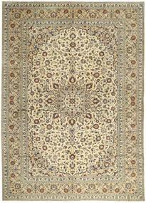 Keshan Matto 295X400 Itämainen Käsinsolmittu Tummanbeige/Vaaleanharmaa Isot (Villa, Persia/Iran)