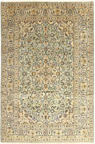 Keshan Matto 242X366 Itämainen Käsinsolmittu Tummanbeige/Tummanharmaa (Villa, Persia/Iran)