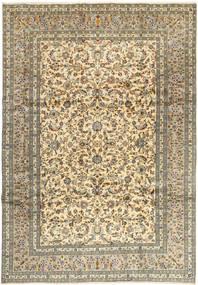 Keshan Matto 245X350 Itämainen Käsinsolmittu Vaaleanruskea/Tummanbeige (Villa, Persia/Iran)