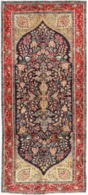 Koliai Matto 145X330 Itämainen Käsinsolmittu Käytävämatto Tummanpunainen/Tummansininen (Villa, Persia/Iran)