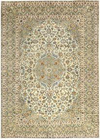 Keshan Matto 290X397 Itämainen Käsinsolmittu Tummanbeige/Vaaleanruskea Isot (Villa, Persia/Iran)