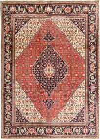 Tabriz Matto 240X330 Itämainen Käsinsolmittu Vaaleanruskea/Ruoste (Villa, Persia/Iran)