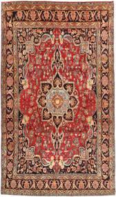 Bidjar Matto 198X342 Itämainen Käsinsolmittu Tummanruskea/Tummanpunainen (Villa, Persia/Iran)