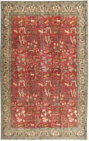 Tabriz Patina Matto 225X350 Itämainen Käsinsolmittu Ruskea/Tummanpunainen (Villa, Persia/Iran)