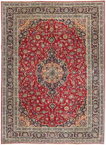 Keshan Patina Matto 247X337 Itämainen Käsinsolmittu Tummanpunainen/Punainen (Villa, Persia/Iran)