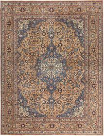 Keshan Patina Matto 292X385 Itämainen Käsinsolmittu Tummanruskea/Tummanpunainen Isot (Villa, Persia/Iran)