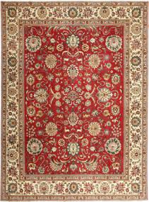 Tabriz Patina Matto 290X390 Itämainen Käsinsolmittu Ruskea/Ruoste Isot (Villa, Persia/Iran)