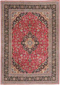 Tabriz Patina Matto 243X340 Itämainen Käsinsolmittu Tummanpunainen/Tummanharmaa (Villa, Persia/Iran)