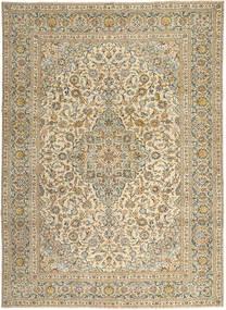 Keshan Patina Matto 272X365 Itämainen Käsinsolmittu Vaaleanruskea/Tummanbeige Isot (Villa, Persia/Iran)