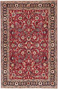 Mashad Patina Matto 197X300 Itämainen Käsinsolmittu Tummanpunainen/Punainen (Villa, Persia/Iran)