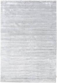 Bamboo Silkki Loom - Harmaa Matto 300X400 Moderni Valkoinen/Creme/Vaaleanharmaa Isot ( Intia)