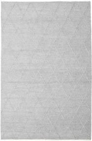 Svea - Hopeanharmaa Matto 200X300 Moderni Käsinkudottu Vaaleanharmaa/Valkoinen/Creme (Villa, Intia)
