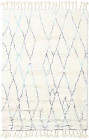 Rana - Natural/Sininen Matto 120X180 Moderni Käsinsolmittu Beige/Valkoinen/Creme (Villa, Intia)