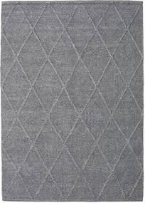 Svea - Charcoal Matto 160X230 Moderni Käsinkudottu Vaaleanharmaa/Tummanharmaa (Villa, Intia)