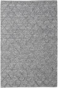 Rut - Tummanharmaa Melange Matto 200X300 Moderni Käsinkudottu Vaaleanharmaa/Tummanharmaa (Villa, Intia)