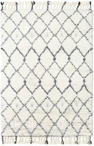 Sauda - Natural Harmaa Matto 160X230 Moderni Käsinsolmittu Beige/Valkoinen/Creme (Villa, Intia)