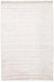 Damask Indo Matto 171X261 Moderni Käsinsolmittu Valkoinen/Creme/Beige/Vaaleanharmaa ( Intia)