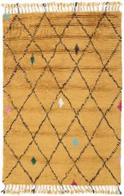 Alta - Kulta Matto 120X180 Moderni Käsinsolmittu Vaaleanruskea/Keltainen (Villa, Intia)