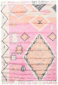 Odda - Roosa Matto 160X230 Moderni Käsinsolmittu Vaaleanpunainen/Valkoinen/Creme (Villa, Intia)
