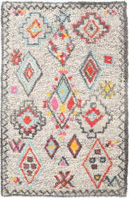 Fatima - Multi Matto 160X230 Moderni Käsinkudottu Vaaleanharmaa/Beige (Villa, Intia)