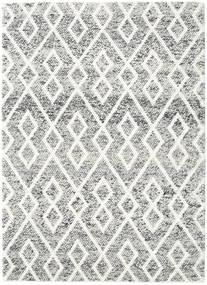 Hudson - Melange Musta Matto 170X240 Moderni Vaaleanharmaa/Beige (Villa, Intia)