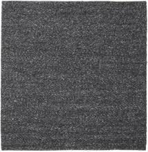 Bubbles - Melange Musta Matto 250X250 Moderni Neliö Tummanharmaa Isot (Villa, Intia)