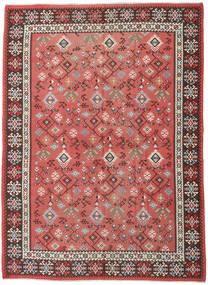 Kelim Venäjän Matto 230X312 Itämainen Käsinkudottu Ruoste/Tummanpunainen (Villa, Azerbaidzan/Venäjä)