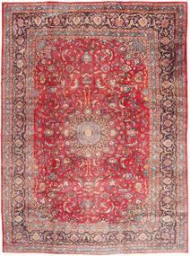 Mashad Matto 295X395 Itämainen Käsinsolmittu Vaaleanpunainen/Tummanpunainen Isot (Villa, Persia/Iran)