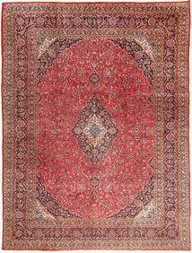 Mashad Matto 295X390 Itämainen Käsinsolmittu Tummanpunainen/Vaaleanruskea Isot (Villa, Persia/Iran)