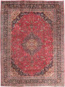 Mashad Matto 295X395 Itämainen Käsinsolmittu Tummanpunainen/Ruskea Isot (Villa, Persia/Iran)