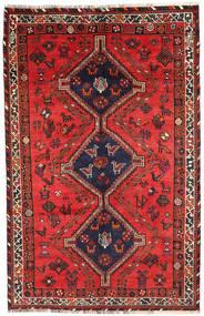 Shiraz Matto 155X245 Itämainen Käsinsolmittu (Villa, Persia/Iran)