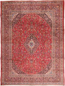 Mashad Matto 295X390 Itämainen Käsinsolmittu Tummanpunainen/Ruskea Isot (Villa, Persia/Iran)
