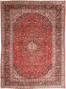 Mashad Matto 285X390 Itämainen Käsinsolmittu Tummanpunainen/Tummanruskea Isot (Villa, Persia/Iran)