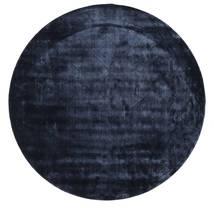 Brooklyn - Keskiyön Sininen Matto Ø 300 Moderni Pyöreä Tummansininen/Sininen Isot ( Intia)