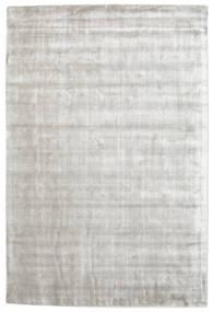 Broadway - Hopea Valkoinen Matto 120X180 Moderni Vaaleanharmaa/Valkoinen/Creme ( Intia)