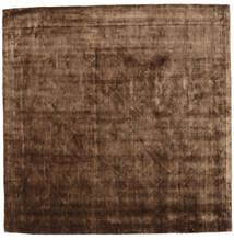 Brooklyn - Ruskea Matto 250X250 Moderni Neliö Ruskea/Tummanruskea Isot ( Intia)