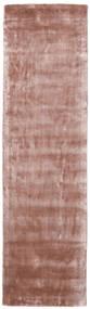 Broadway - Dusty Rose Matto 80X300 Moderni Käytävämatto Vaaleanpunainen/Tummanpunainen ( Intia)