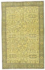 Colored Vintage Matto 183X290 Moderni Käsinsolmittu Keltainen/Oliivinvihreä (Villa, Turkki)