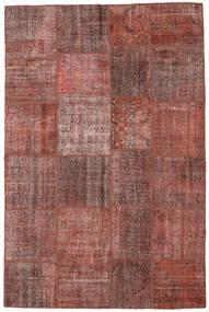Patchwork Matto 197X301 Moderni Käsinsolmittu Vaaleanruskea/Ruskea (Villa, Turkki)