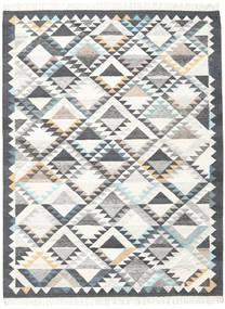 Texcoco Matto 160X230 Moderni Käsinkudottu Beige/Vaaleanharmaa/Tummanharmaa (Villa, Intia)