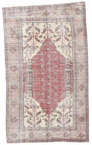 Colored Vintage Matto 153X252 Moderni Käsinsolmittu Vaaleanharmaa/Vaaleanvioletti (Villa, Turkki)