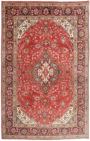 Tabriz Matto 195X300 Itämainen Käsinsolmittu Ruoste/Tummanpunainen (Villa, Persia/Iran)