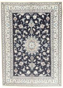 Nain Matto 145X206 Itämainen Käsinsolmittu Vaaleanharmaa/Tummanharmaa (Villa, Persia/Iran)