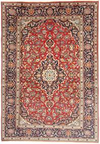 Keshan Matto 198X292 Itämainen Käsinsolmittu Vaaleanruskea/Beige (Villa, Persia/Iran)