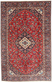 Keshan Matto 185X290 Itämainen Käsinsolmittu Tummanpunainen/Tummanruskea (Villa, Persia/Iran)