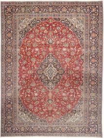 Kashmar Patina Matto 290X390 Itämainen Käsinsolmittu Ruskea/Pinkki Isot (Villa, Persia/Iran)