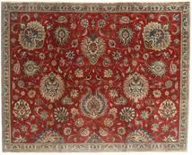 Tabriz Patina Matto 183X230 Itämainen Käsinsolmittu Tummanpunainen/Vaaleanruskea (Villa, Persia/Iran)