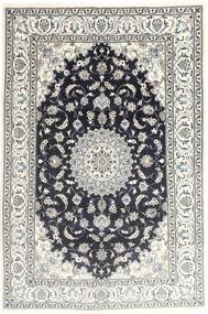 Nain Matto 194X287 Itämainen Käsinsolmittu Vaaleanharmaa/Tummanharmaa (Villa, Persia/Iran)