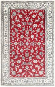 Nain Matto 195X305 Itämainen Käsinsolmittu Vaaleanharmaa/Punainen (Villa, Persia/Iran)